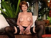Katala granny in black lingerie fucked and sucks cock for cum