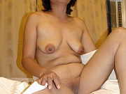 Mature Asian granny loves anal and to get deep anal creampie