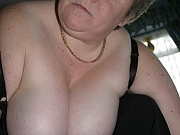 Amazing old woman and their sagging big boobs hard