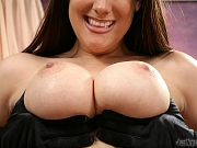 Hot Amber Sky has big natural tits and a warm wet pussy
