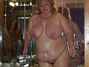 Old ladies fucking,masturbating and showing her naked body