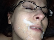 Sexy amateur wives from around smoke cocks and get big facials