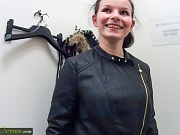 Shy teen Liliet willing to get fucked by stranger !