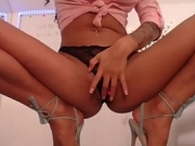 Beauty Big Tits Co-Ed Is Squirting Massively