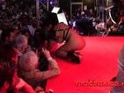 Kesha Ortega fucks KEvin White on stage at SEB 2017