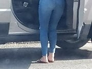 Car wash ass at the vaccum